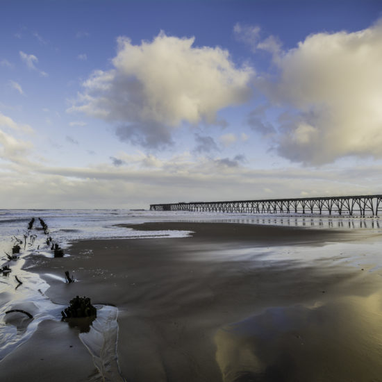 Steetley Pier and Beach