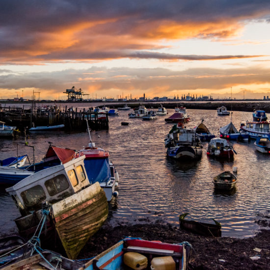 South Gare Sunset - September 2017