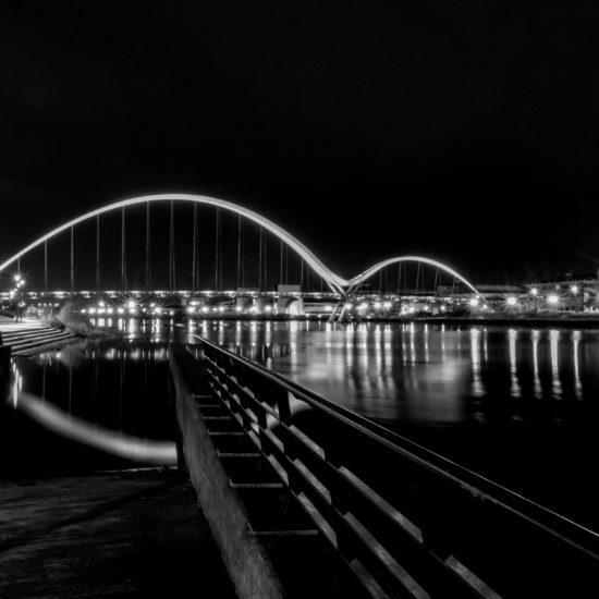 Infinity Bridge at Night