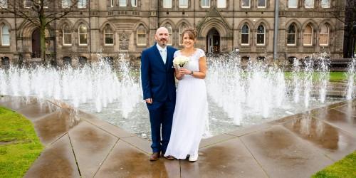 Fiona & Dean's Intimate Wedding