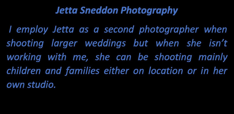 Jetta Sneddon Photography Logo Text Box